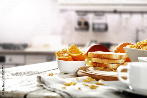 Tableau sur Toile breakfast