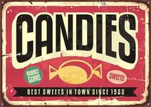 Candy Shop Retro Advertisement...