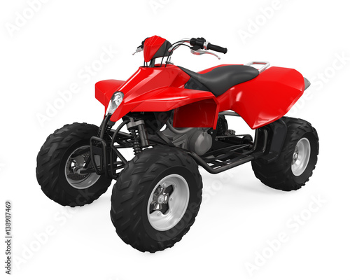 All-Terrain Vehicle Isolated