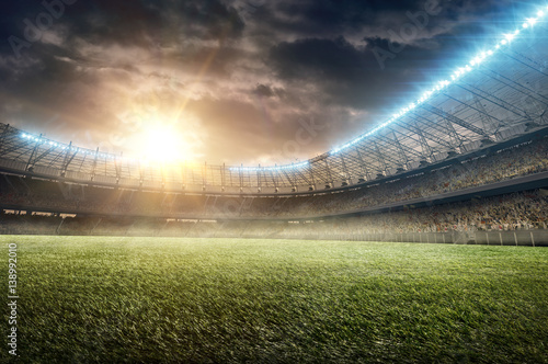 soccer stadium 9 Canvas-taulu