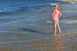 girl on sea beach
