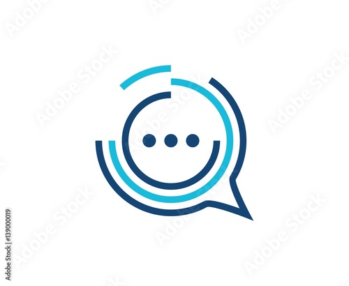 Valokuva  Chat logo
