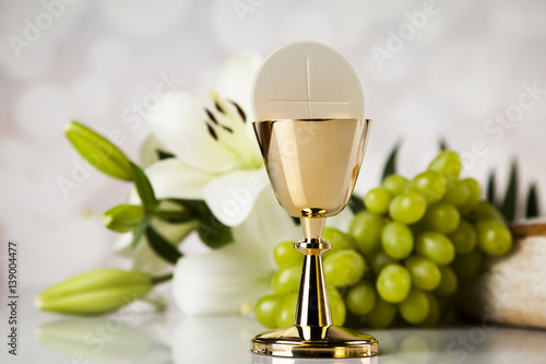 holy communion bread wine for christianity religion buy this