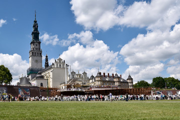 Klasztor ojców Paulinów na Jasnej Górze w Częstochowie