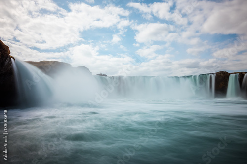 Wall Murals Waterfalls Waterfalls and sky