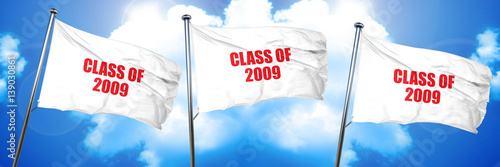 Fotografia  class of 2009, 3D rendering, triple flags