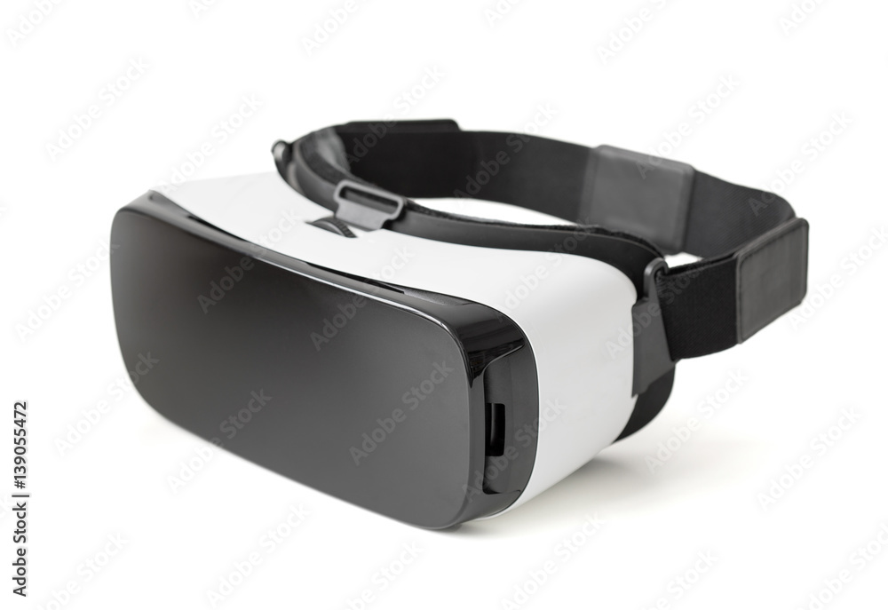 Fototapeta Virtual reality glasseds on white background