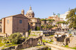 Roman Forum, Rome's historic center, Italy