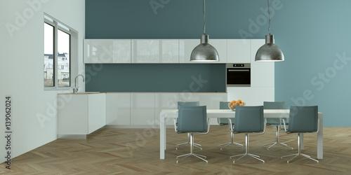 Exceptional Moderne Wohnküche