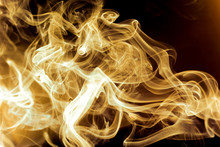 Abstract Background Of Smoke W...