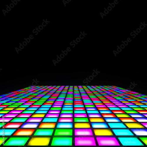 multi color lights floor - 139071017