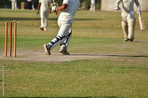 Fotografía Boys are playing cricket