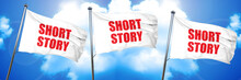Short Story, 3D Rendering, Triple Flags