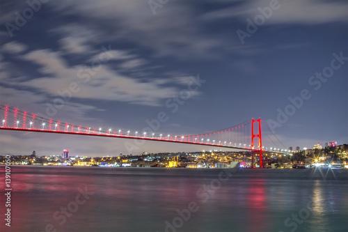 Tuinposter Singapore Bosphorus bridge