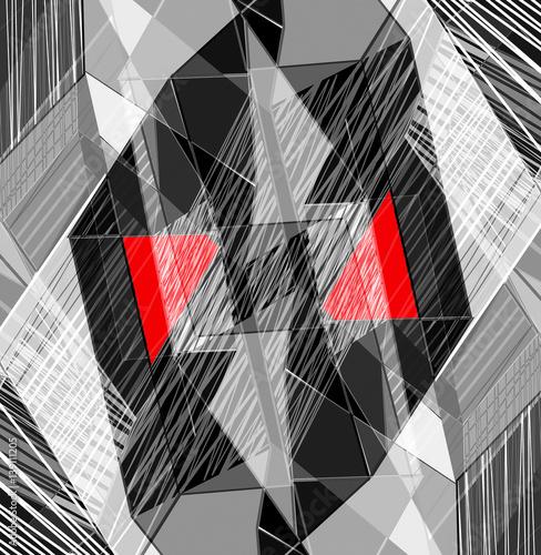 abstrakcjonistycznej-fantazi-geometryczny-tlo