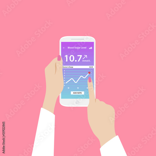 app to check blood sugar levels