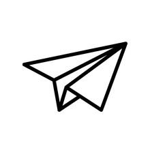 Essential Icons - Send (Outline)