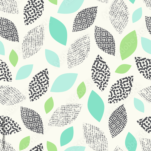 Tapety do jadalni  seamless-pattern-with-leaves