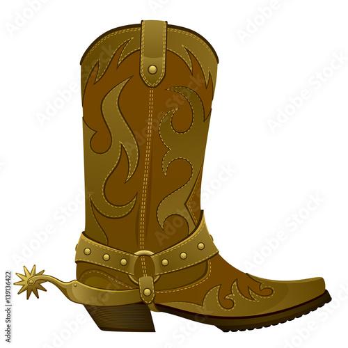 Fototapeta Cowboy boots
