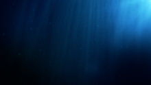 Underwater Background. Blue Un...
