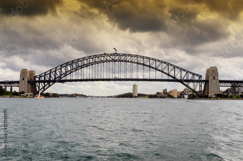 Staande foto Sydney View of Sydney Harbour Bridge