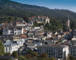 Panoramic view over Baden Baden, Baden-Wuerttemberg, Germany