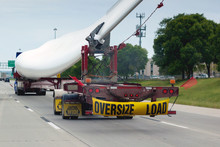 Oversized Load On Highway