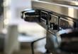 Coffee machine close-up