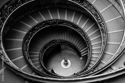 Wall Murals Stairs Bramante Staircase