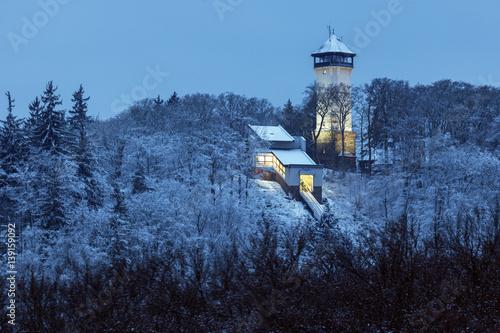 Fotografie, Obraz  Diana Tower in Karlovy Vary
