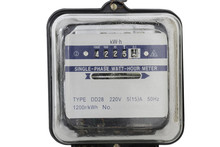 Analog Electric Meter Isolated...