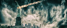 Statue Of Liberty Destroyed By...