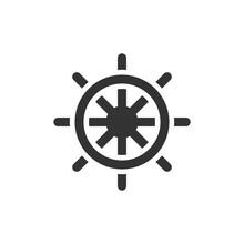 BW Icons - Ship Steer Wheel