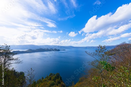 Lake Towada,in Towada-Hachimantai National Park,Aomori,Japan Canvas Print