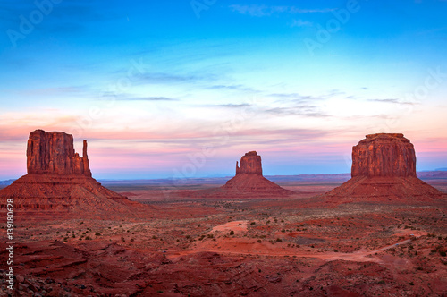 Recess Fitting Bordeaux Sunset at Monument Valley