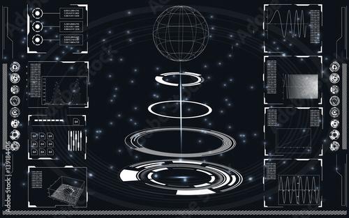 Fotografía  Radar screen