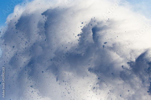 Foto avalanche as background