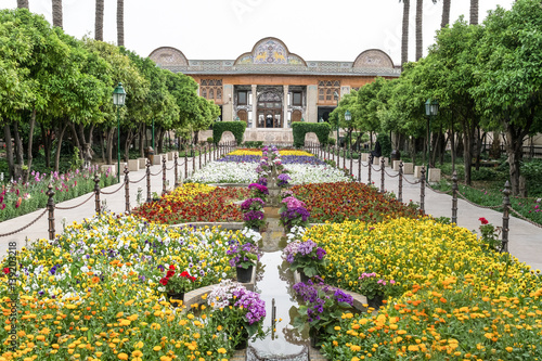 Golestan Palace in Tehran, Iran.