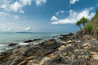 Rugged coastline of Koh Lanta in Thailand.