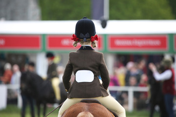 Equestrian events ponies in England.