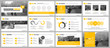 Elements for infographics and presentation templates.