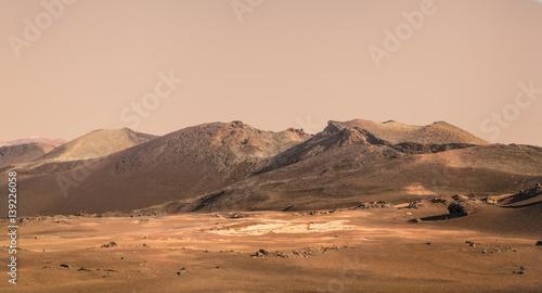 Keuken foto achterwand Nasa Planet Mars fictional landscape