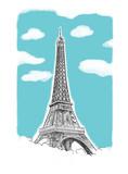 Fototapeta Fototapety Paryż - Pocztówka z Paryża