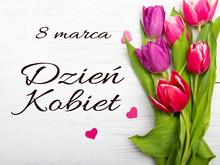 Women's Day Card With Polish W...