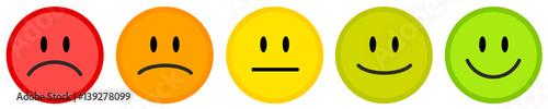 Photo Smiley icon set