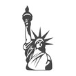 Statue of Liberty icon - Illustration