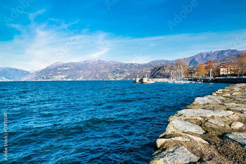 Fotografie, Obraz  Lake Maggiore, Luino, Italy