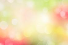 Spring Fresh Blurred Bokeh Background.