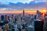 Fototapeta Nowy Jork - view of new york city at night