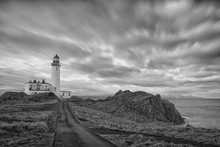 Ancient Scottish Lighthouse Bl...